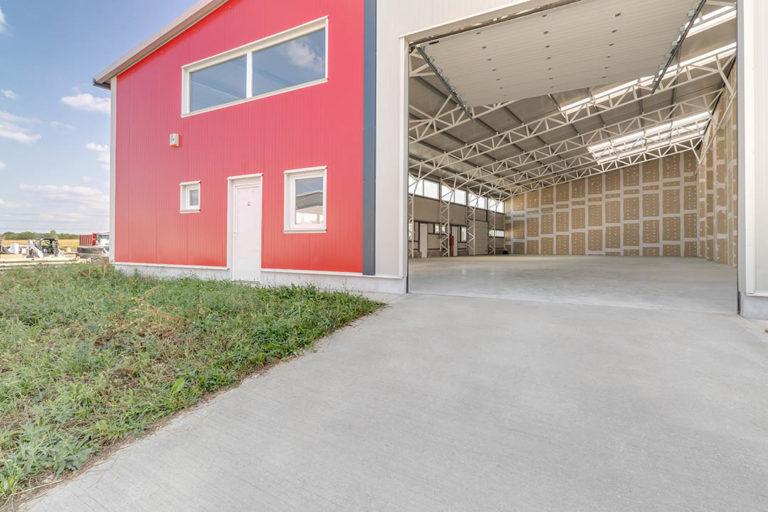 IndustriaHáz ipari kapu