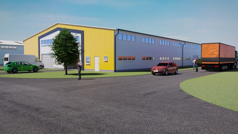 IndustriaHáz Tárnok 4. épület