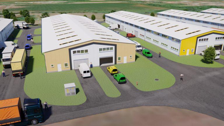IndustriaHáz Tárnok 5. épület