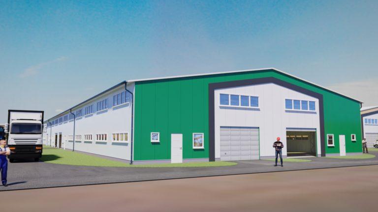 IndustriaHáz Tárnok 6. épület